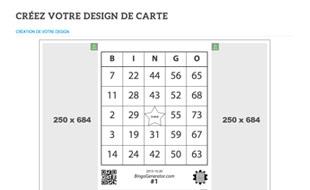 Créez le design de vos cartes